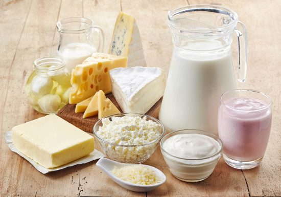 Milch und Milchprodukte